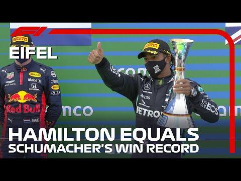 ルイス・ハミルトンが91回目の優勝。ミハエル・シューマッハにならぶ、快挙。F1 ドイツGP2020