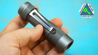2800 Lumen Everyday Carry Flashlight. TLF, BLF, Luminitop FW3A
