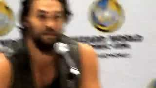 Jason Momoa/Джейсон Момоа, Jason Momoa- Q&A question - Wizard World Louisville