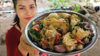 Yummy cooking chicken with red onion recipe - Natural life tv cooking