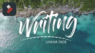 Awesome Text Effect: Linear Wipe text | Filmora Tutorial