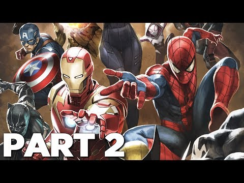 MARVEL ULTIMATE ALLIANCE 3 THE BLACK ORDER Walkthrough Gameplay Part 2 - SPIDER-MAN (Switch)