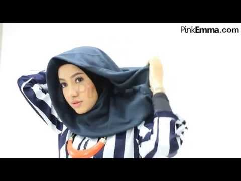 Video Tutorial Hijab Segi Empat Dengan Drapery Style