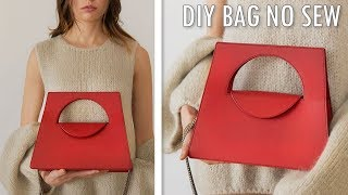 DIY ADORABLE HANDBAG TUTORIAL NO SEW // Cute Purse Bag Tote Idea
