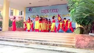 Liên Khúc đất Việt Tiếng Vọng Ngàn đời- Dòng Máu Lạc Hồng - 11N Chuyên Lam Sơn ( 2015-2018)