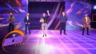 The stars of the United Kingdom Tournament come to WWE 205 Live: WWE 205 Live, April 4, 2017