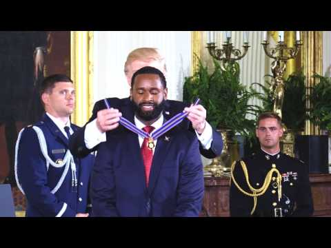 Celebrating American Heroes Week at the White House