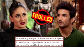 Kareena Kapoor Khan COMPARED To Sushant Singh Rajput, Gets TROLLED By Fans