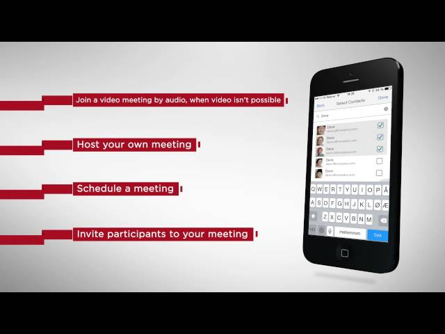 Videxio My Meeting App - Videoconferencing Cloud Service App