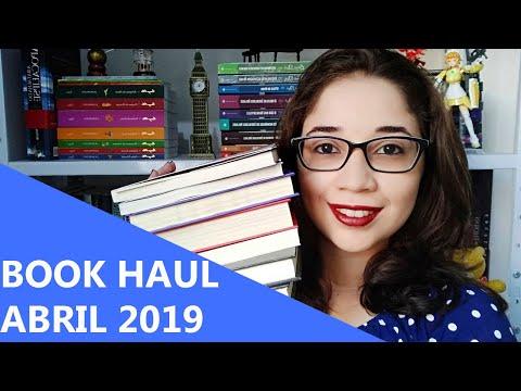 BOOK HAUL DE ABRIL 2019  ?  | Biblioteca da Rô