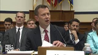 FBI Deputy Assistant Director Peter Strzok's Opening Statemnt