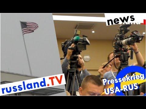 Russland: US-Sender bald Agenten [Video]