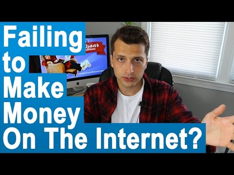Why People Fail to Make Money on the Internet