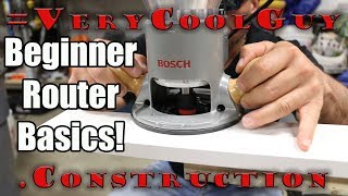 Best Way To Use A Woodworking Router For Beginners!
