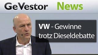 Volkswagen: Höhere Gewinne überdecken die anhaltenden Dieselprobleme