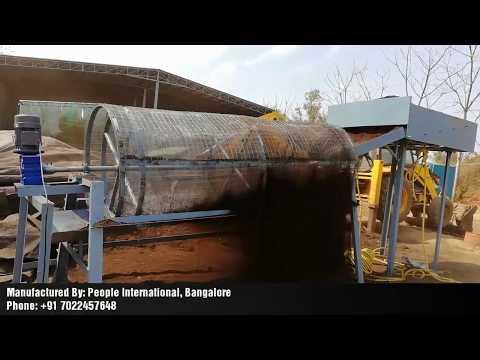 Compost Screening Machine