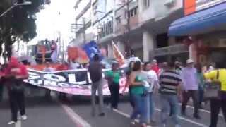 Milhares nas ruas de Salvador em defesa da democracia
