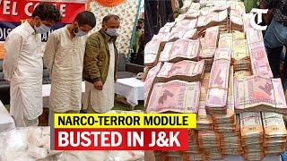 Kashmir police bust narcotics gang, seize 21 kg heroin, Rs 1.34 crore cash - Download this Video in MP3, M4A, WEBM, MP4, 3GP
