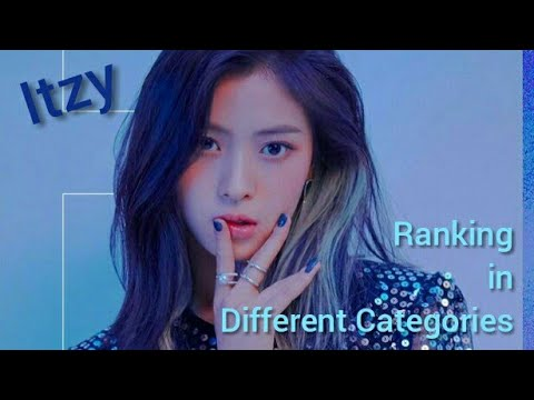 Itzy RANKING IN DIFFERENT CATEGORIES (DEBUT VER.)