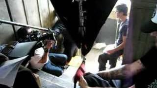 Enrique shooting Somebody's Me video