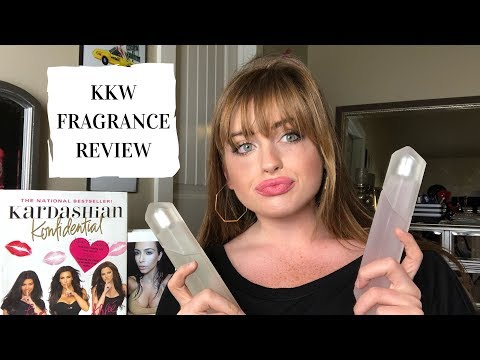 KKW FRAGRANCE UNBOXING AND REVIEW | Crystal Gardenia and Crystal Gardenia Citrus