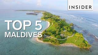Top 5 Maldives spots to visit