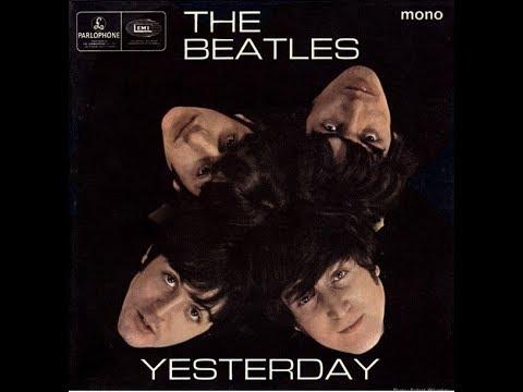 Yesterday | The Beatles (LYRICS ON SCREEN / ORIGINAL)