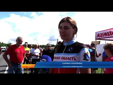 В Курске прошел чемпионат и первенство области по шоссейному велоспорту