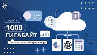1000 гигабайт в облачном хранилище всем пользователям Дневник.ру!