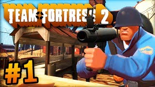 """""""THE UBER TEAM!"""" - Team Fortress 2 LIVE w/ Ali-A #1! - (TF2)"""