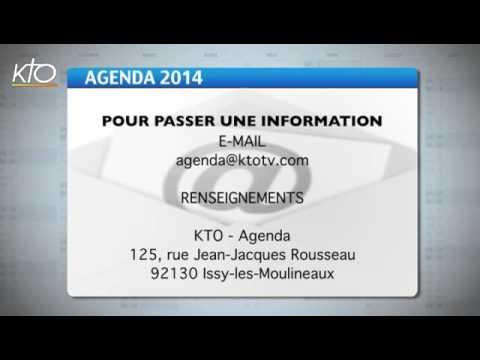Agenda du 18 avril 2014