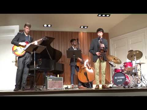 """""""Make it Work"""", an original composition of mine being performed by myself and my jazz quartet"""