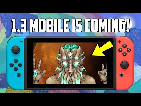 Terraria 1 3 Nintendo Switch and Mobile New Image Release Update - HappyDays