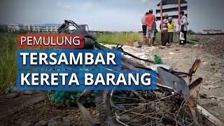 Video Tewasnya Pemulung karena Tersambar Kereta di Rel Tugurejo Semarang