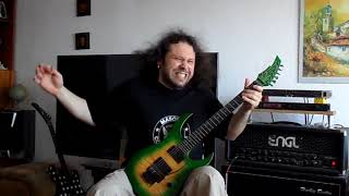 Dio - Lock Up The Wolves guitar cover