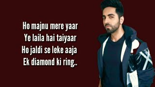 DIL KA TELEPHONE Full Song With Lyrics Dream   - YouTube