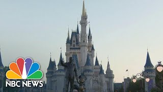 Orlando's Disney World Reopens This Weekend With Coronavirus Restrictions | NBC Nightly News