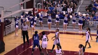 Bryan Rudder Rangers vs. Barbers Hill Eagles - 2014/15 Girls Basketball - 02/27/15