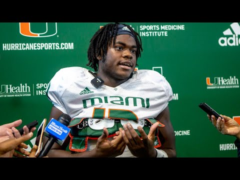 DeeJay Dallas on Miami Hurricanes quarterbacks Perry, Williams, and Martell: They come working