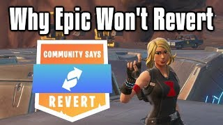Why Epic Won't Revert Fortnite   The Downfall Of Fortnite Battle Royale