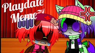 Playdate Meme~ Ft. Tangle & Xangle  Fnaf World   Gacha Club Test