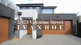 2/123 Valentine Street Ivanhoe