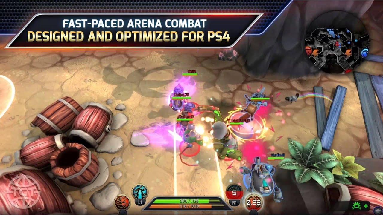 Trans-Galactic Tournament, il gioco di combattimento in arena free-to-play, debutta oggi su PS4