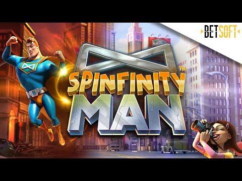 Spinfinity Man Gameplay Trailer