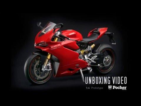 Pocher 1:4 HK107 Ducati Superbike 1299 Panigale S   UNBOXING