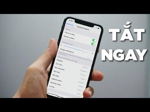 TẮT NGAY 5 cài đặt này cho iPhone để tăng tốc và giảm hao pin
