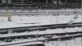 preview picture of video 'Edgware tube station 18/1/13'