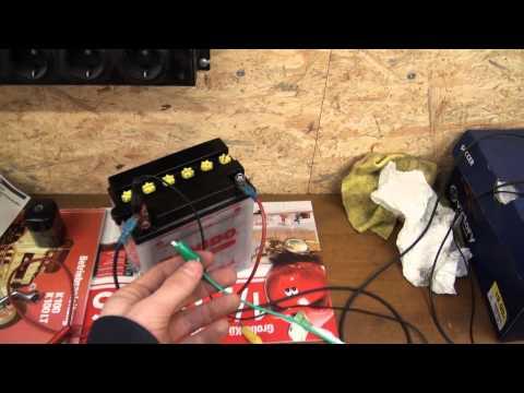 Video BMW K 100 original Blinkrelais in Verbindung mit LED Blinkern