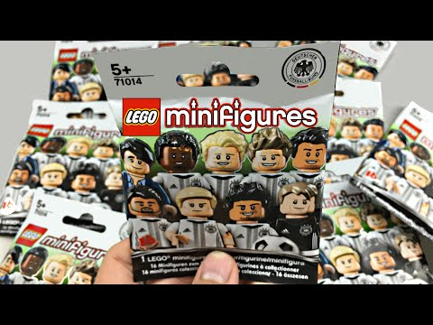LEGO Minifigures Football Series - 11 pack opening! (DFB - Die Mannschaft)