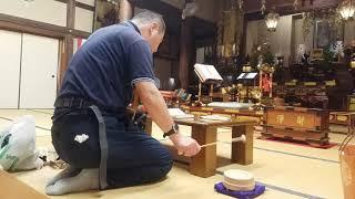 東大阪市額田日蓮宗上行院松井良介さんの勤行2018年9月16日